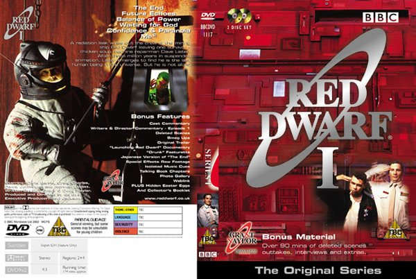 Seria I - DVD (C) 2002 www.reddwarf.co.uk