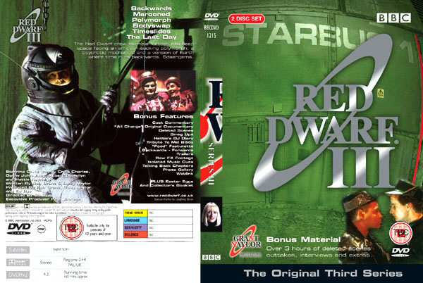 Seria III - DVD (C) 2003 www.reddwarf.co.uk